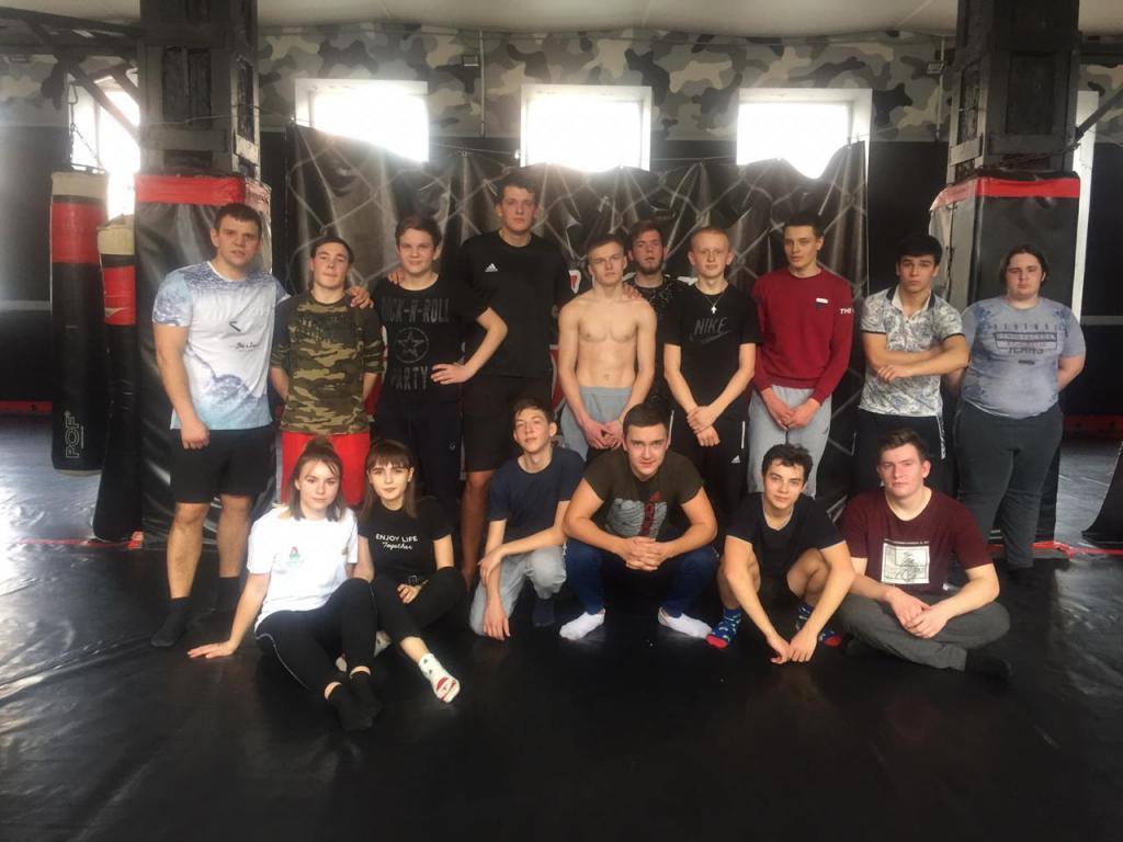 Студенты ГБПОУ РО «РЖТ» в Центре боевых искусств «Кавказ»