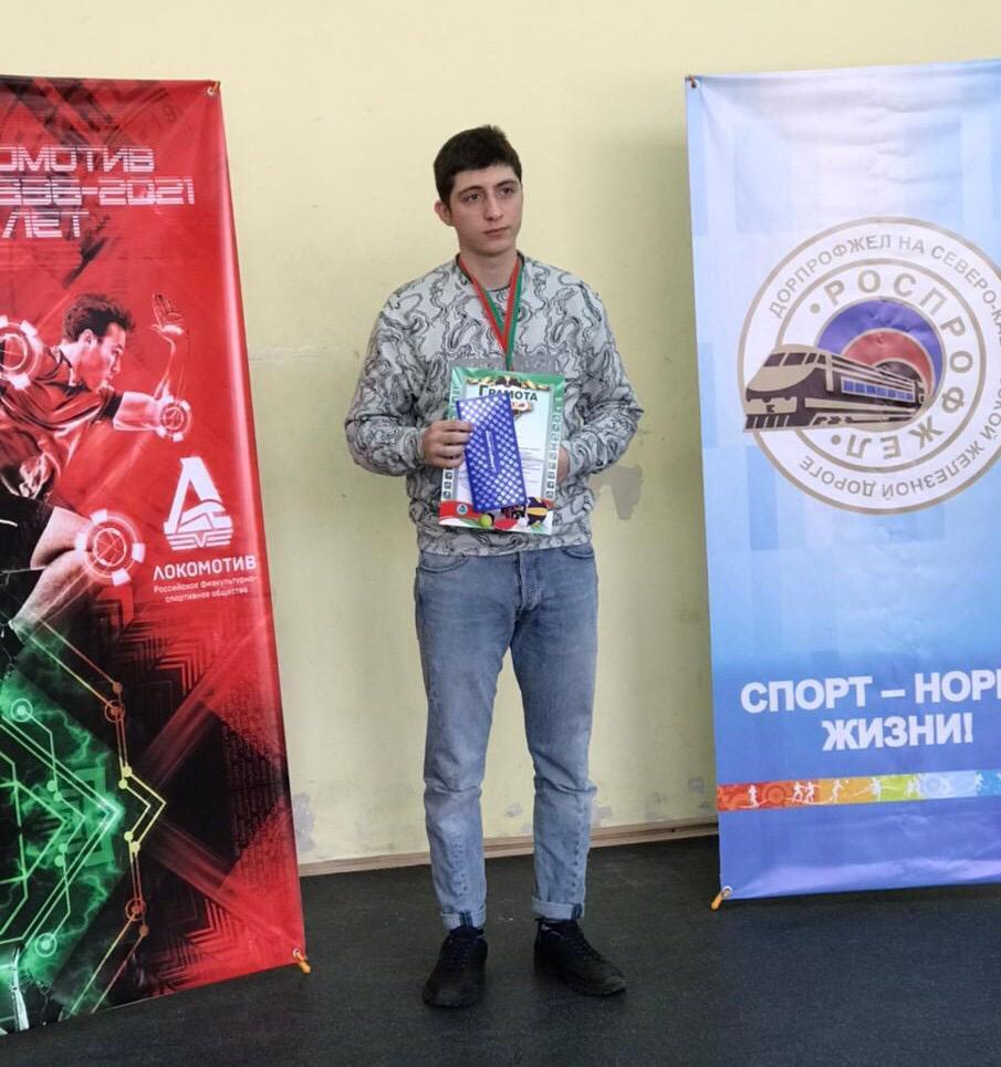 Первенство   по теннису и бадминтону Ростовского региона СКЖД
