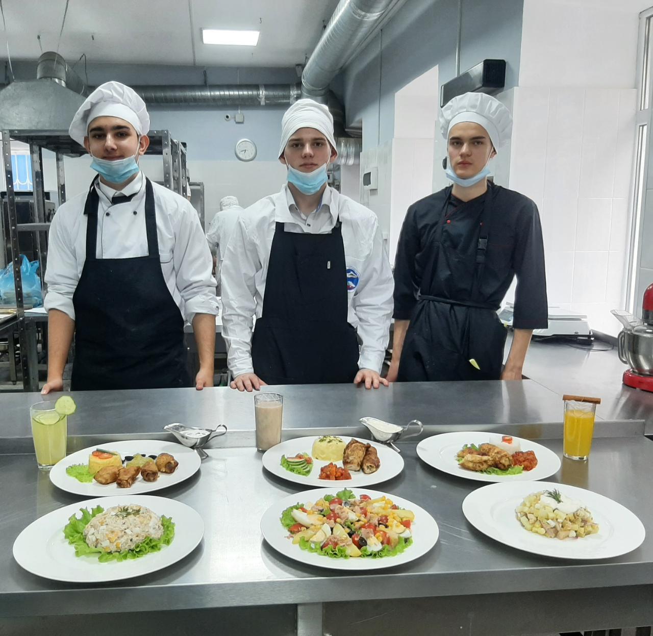 Профессиональная Неделя по профессии «Повар, кондитер» на тему: «Национальные кухни России»