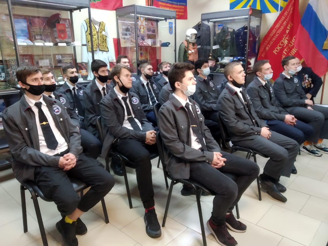 Встреча с ветеранами Афганистана