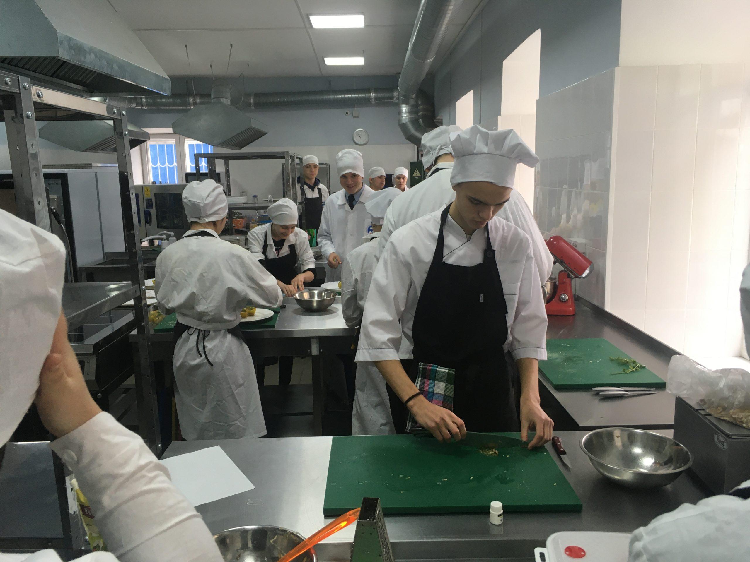 Практика в лаборатории WorldSkills